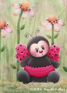 *TOLE -TALLY CUTE! ~ Puddles of Paint Free Patterns