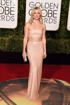 Worst: Kate Hudson in Michael Kors at the 73rd Annual Golden Globe Awards.