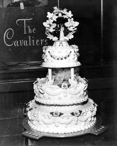 My Parents Wedding   May 15, 1954   File Photo Digital Archive   Flickr Beautiful Cakes, Amazing Cakes, Cupcake Cakes, Cupcakes, Vintage Cake Toppers, Vintage Weddings, Special Day, Wedding Cakes, Parents
