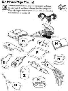 m van mama I Love School, Pre School, Primary School, Family Theme, Family Kids, Letter School, Mamas And Papas, Happy Kids, Illustrations