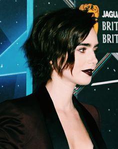 Lily Collins at BAFTA Los Angles Britannia Awards – 2015.