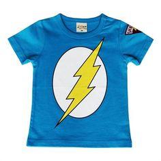 Funky boy clothing - Hootkid - The Flash Tee - $24.95 . Funky boy clothing - Hootkid