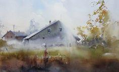 Watercolor by Ilya Ibryaev