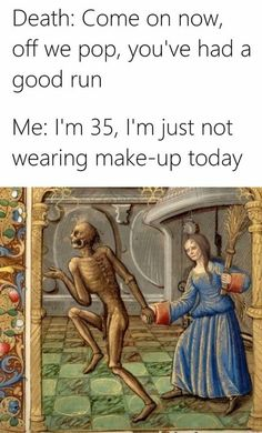 For the lighter side of life. Stuff that makes you go LOL. Medieval Memes, Art History Memes, Classical Art Memes, Art Jokes, Look At You, Funny Cartoons, Funny Art, Funny Relatable Memes, Funny People