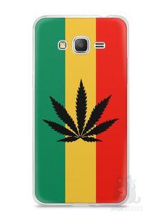 Capa Samsung Gran Prime Rasta Weed #2 - SmartCases - Acessórios para celulares e tablets :)