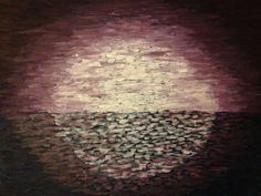 Moonrise painting by CrasianDesigns on Etsy