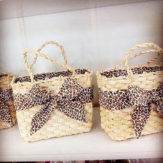 ATELIE DE IDEIA: bolsa palha customizada