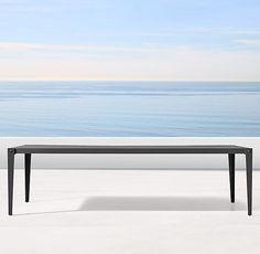 Mustique Aluminum Dining Table