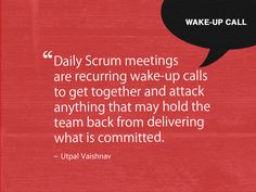 Is daily scrum overrated?