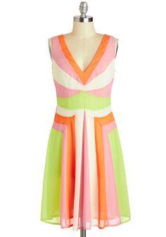 Sherbet Fizz Dress - love!