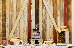 Whimsical Vintage Dessert Table at Pecan Springs Ranch