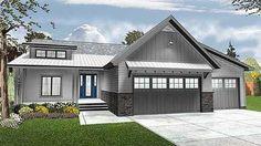 Plan 62568DJ: 3 Bed Cottage Ranch Home Plan