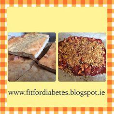 Fit For Diabetes: Proteiinipannari & terveellinen marjamurupaistos