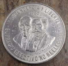1960 Diez Pesos 90 Silver Mexican Coin 10 Peso Mexican Coin No Reserve Gold Price Chart, Silver Bullion, World Coins, Sell Gold, Us Coins, Mural Painting, Silver Coins, Precious Metals, Stamp