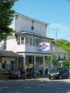Fargo's General Store , on Wolfe Island, Ontario Canada.