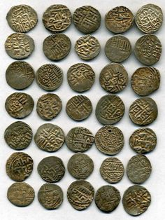 Golden Horde money Golden Horde, Silver Coins, Civilization, Old Things, Lost, Writing Prompts, Cabinets, Empire, Collections