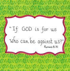 Good News...God IS for us ! www.thegoodnewscartoon.com www.facebook.com/TheGoodNewsCartoon