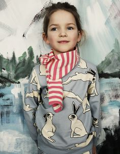 """#minirodini AW16 collection """"Young and free in Alaska"""""""
