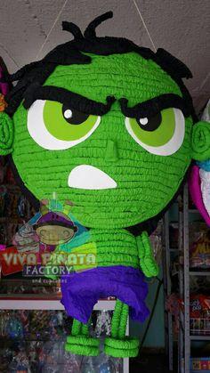 Una tierna pero ruda Piñata de Hulk... en #VivaPiñataStore van a encontrar modelos y productos exclusivos... que esperan para visitarnos?