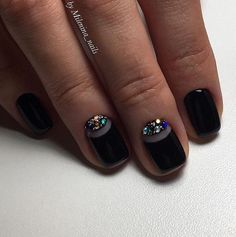 Black color of the nails means that you want to show your individuality. Not every nail technician can make the ...