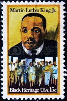 Martin Luther King Jr. (1929 – 1968), leader in the African-