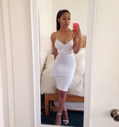 Lynnette Joselly: What She Wore: Laura Govan&39s White Michael ...