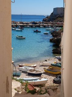Island of Levanzo, province of Trapani, Sicily, Italy