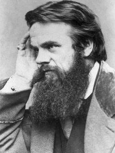 William Holman Hunt --one of the founders of the Pre-Raphaelite Brotherhood