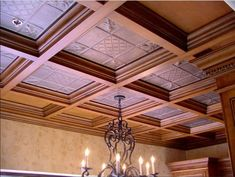 Explore the best ideas for Decorative Modern Ceiling wall Tiles For Home at The Architecture Design. Visit for more images about Modern ceiling wall tiles. Drop Ceiling Lighting, Drop Ceiling Tiles, Faux Tin Ceiling Tiles, Dropped Ceiling, Home Ceiling, Ceiling Lights, Ceiling Grid, Modern Ceiling, Wall Tiles
