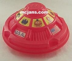 Do you remember when Happy Meals came in this plastic UFO container?