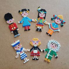 People perler beads by mintplanet
