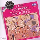 Satie: 3 Gymnopédies and Other Piano Works [CD]