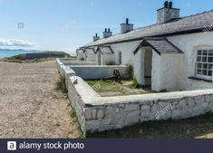 Wales Uk, North Wales, Anglesey, Pilot, Cottage, Stock Photos, Island, Cottages, Pilots