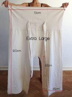 ThaiFisherman Pants Organic Cotton – by - - ThaiFisherman Pants Organic Cotton – by Extra Long Fisherman Pants ThaiFisherman Pants Organic Cotton – by made by This style is made from, unbleached and undyed Pantalon Thai, Diy Pantalon, Sewing Pants, Sewing Clothes, Diy Clothes, Green Cotton, Organic Cotton, Organic Baby, Organic Living