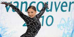 Elene Gedevanishvili at Olympic Games in Vancouver