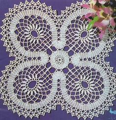 Doily Lucky – Crochet Pattern