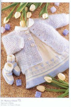 Albums archivés Knitting Magazine, Crochet Magazine, Knitting Patterns, Sewing Patterns, Baby Leg Warmers, Crochet Doll Dress, Baby Socks, Kid Styles, Baby Wearing