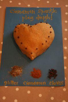 Cinnamon Sparkle Play Dough