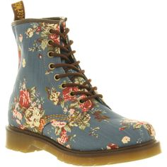 Dr. Martens 8 eyelet lace up bt white patent ($145) ❤ liked on Polyvore