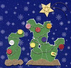 More Christmas cacti.