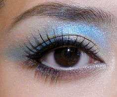 Water Sprite: Majolica Majorca Little Humming Book II Blue and Gold Doll-Eye Makeup Tutorial