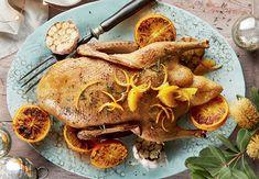 Orange & Garlic Glaze Roast Duck with Pistachio Stuffing - ALDI Australia