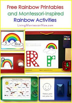 Blog post at LivingMontessoriNow.com : It's the 15th of the month, and I have a new post at PreK + K Sharing. Today, I have somerainbow activities using free rainbow printable[..]