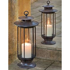 2 Piece Alix Indoor/Outdoor Lantern Set   For The Patio