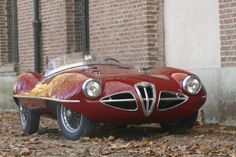 1952 Alfa Romeo Disco Volante - Organo Gold may help you to fulfill your dreams: http://1world1vision.organogold.com