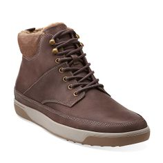 b20941180a8 Nadel Peak in Dark Brown Leather - Mens Boots from Clarks Mens Hiking  Boots