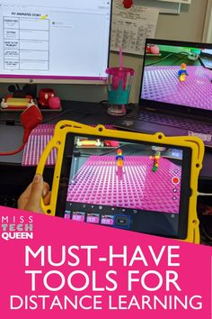 While teaching virtually, having tools that make your lessons more effective and easier overall is a must in my opinion! Learn more about how I integrate tools such as a Hue Camera, iPhone, and more into my digital lessons! These fun ideas can also help make the lessons more engaging for your elementary students.