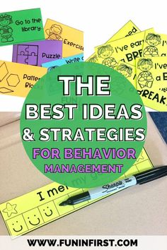 Behavior management is such an important part of building a classroom community in your elementary classroom. I've also found that it's better to have a variety of classroom management strategies, because what works for one classroom or student, may not work for the next! Read this post to learn more about all of the strategies, plus grab my FREE behavior management cards. Behavior Management Strategies, Classroom Management Strategies, 2nd Grade Classroom, School Classroom, Free Teaching Resources, Teaching Tips, Classroom Community, Bulletin Boards, Elementary Schools