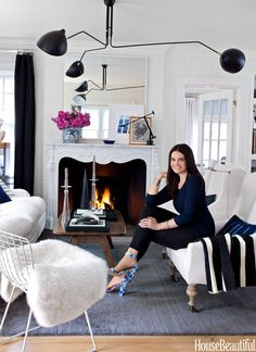 When former style editor Michelle Adams traded Manhattan for Michigan, she had to reconcile her impulse for sampling the new and the next with her desire for a timeless home.
