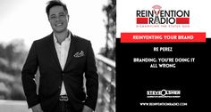 TUNE IN to this episode of Reinvention Radio with Re Perez of Branding for the People. Learn why you should focus on branding to secure the future trajectory of your business. With Fortune 500 branding experience, including GE Money, Intel, Lilly, Nielsen Company, Motorola, TD Ameritrade and Xerox, knows branding. http://reinventionradio.com/reinventing-your-brand/ #reinventionradio #smallbusinessbranding #brandingforthepeople #reperez